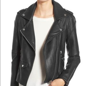 USED BlankNYC Easy Rider Faux Leather Moto Jacket